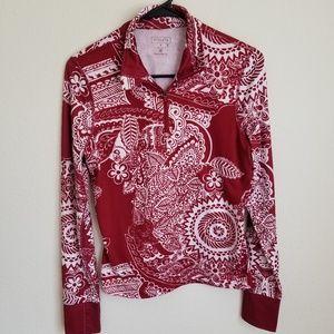 Athleta Half Zip Pullover